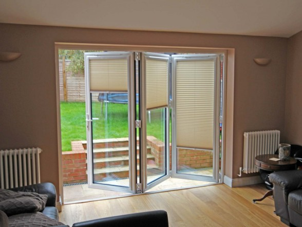 Vertical Blinds For Fitting In Bi Fold Doors Blind Fitting